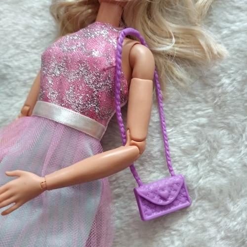 Doll Accessories Bags / Handbag Purse Bags for 1/6 barbie kurhn FR Blythe doll / Xmas Gift 9