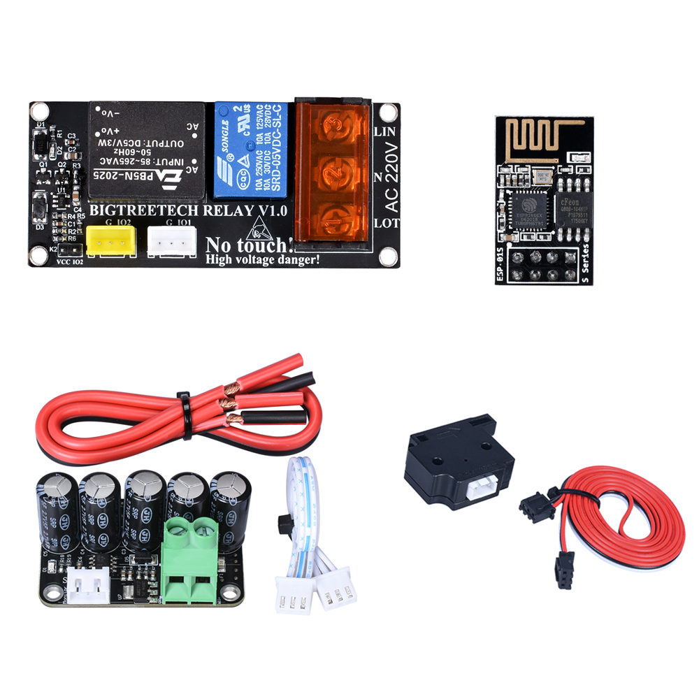 3D Printer Board Expansion Module Auto Shuts Down Module Power Off Resume Print With WIFI Module For SKR V1.3 SKR Pro MKS Gen L