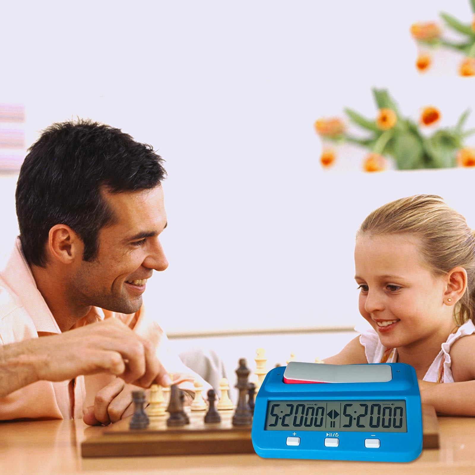 garde-xadrez relógio de contagem para baixo temporizador
