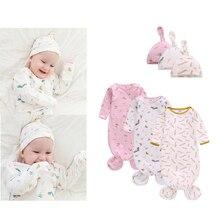 2 предмета + новорожденный + младенец + девочки + мальчики + пеленка + одеяло + спальные места + сумки + мягкий + хлопок + длинный + рукав + муслин + накидка% 2BШляпа + малыш + младенец + комплекты