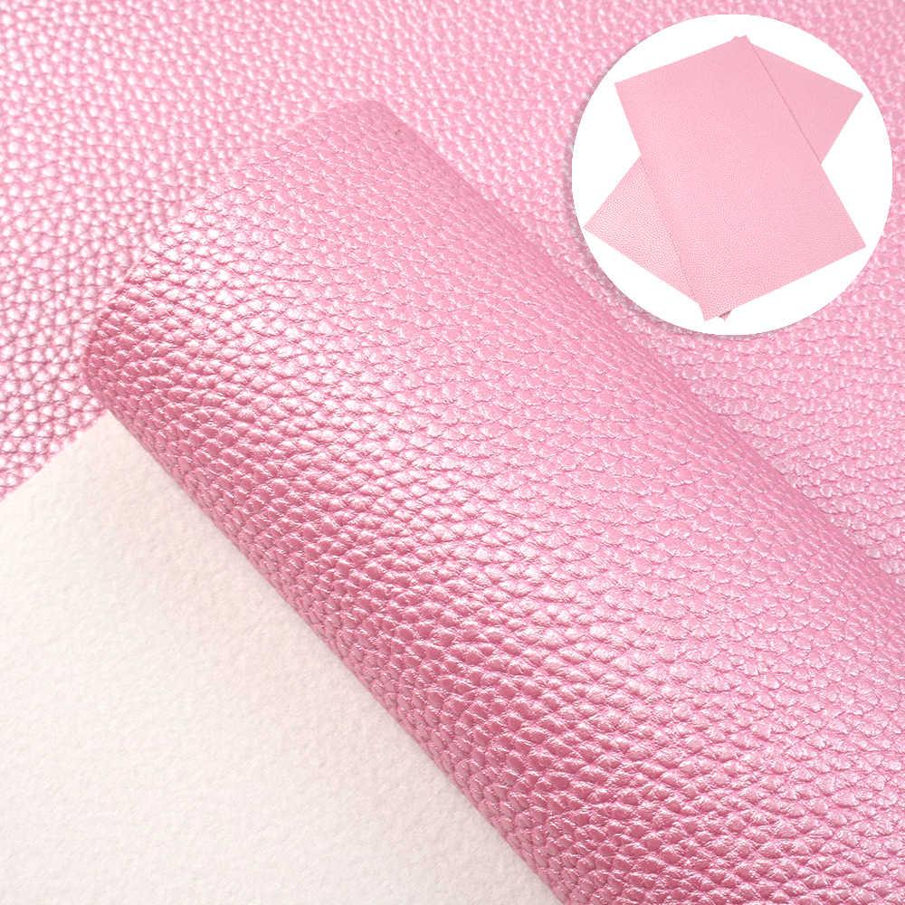 דוד אנג 'י 20x34cm סינטטי ליצ' י עור ויניל פו מלאכותי בד DIY תפירת בגד HairBow שקיות, 1Yc7275