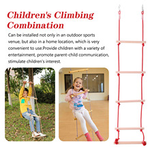 Children Balance Training Equipment Climbing Rope Kids Climbing Camping Combination Outdoor Sports Rope Ladder