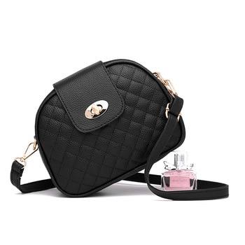 Fashionable Spring Small Woman Shoulder Bag Mini Black Pink Ladies Crossbody Leather Bags For Women Vintage Fanny Handbag - discount item  20% OFF Women's Handbags