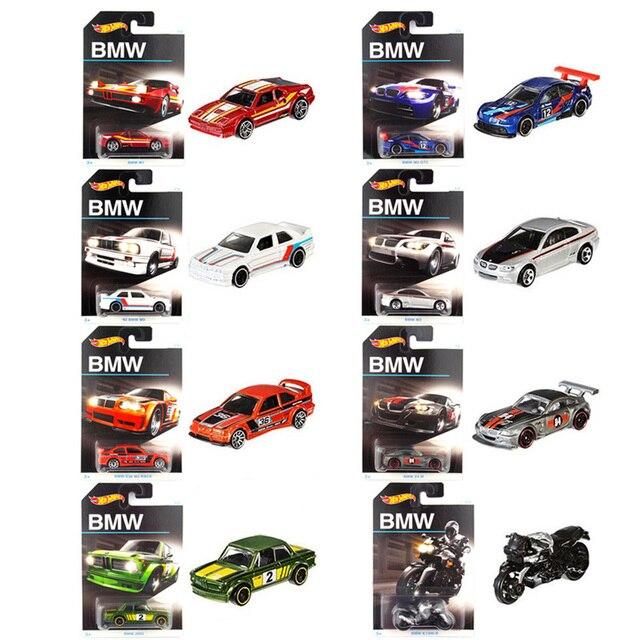 Original Hot Wheels Sports Car BMW M3 GT2 Z4M M1 Z4M Series Collector Edition Set Diecasts Metal Toy Vehicles Boy Car Gift DJM79 1