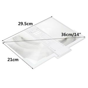 Image 2 - 14 Inch High Definition Folding Screen Amplifier Phone Magnifier Stand Holder