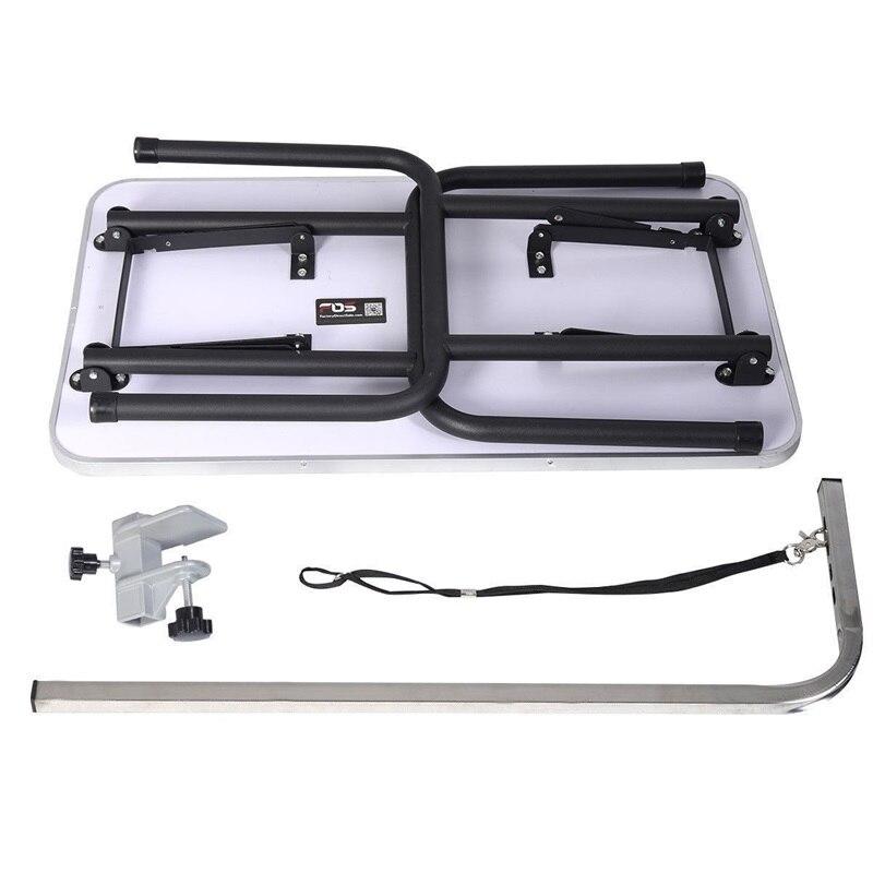 Черный 32 Регулируемый складной стол для ухода за собакой с ручкой и петлей Легкая очистка товары для домашних животных PS7112 - 6