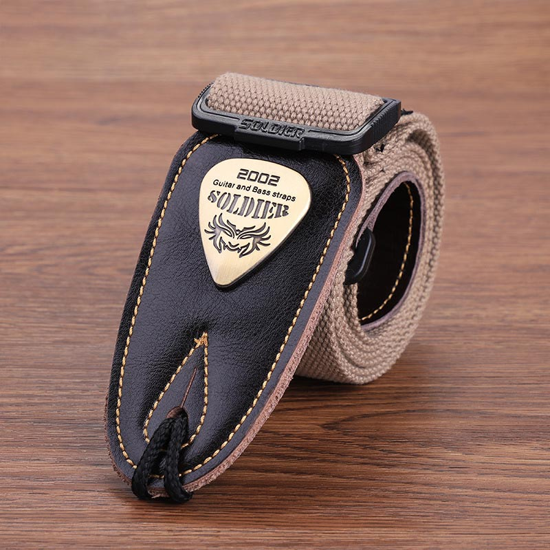 Acoustic Electric Butt Guitar Bass Guitar Strap Cotton Shoulder Belts Guitars Accessories YS-BUY