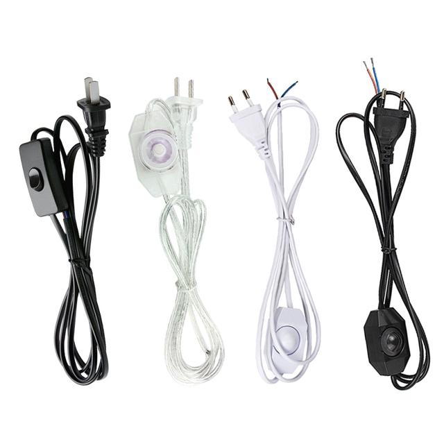 1 8M przełącznik LED ze ściemniaczem kabel Modulator światła lampa linia sterownik ściemniacza do lampy stołowej ue US wtyczka 220V przewód elektryczny tanie tanio Meloof CN (pochodzenie) ROHS EU US plug TG-02 Ściemniacze