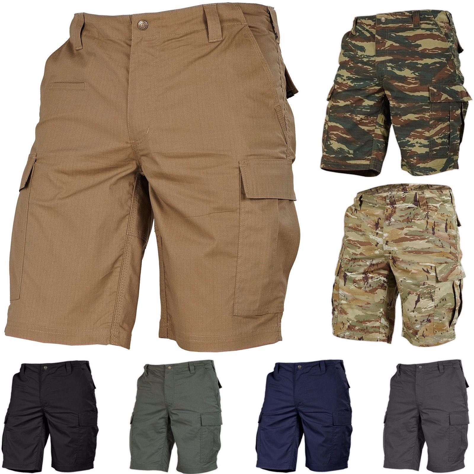 ZOGAA Military Style Camouflage Short 2020 Streetwear Casual Beach Pants 7 Color Men Short  Workout Clothing Men Plus Size S-3XL