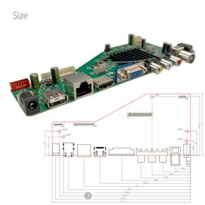 Image 3 - Android 8.0 1G + 4G 4 rdzenie MSD358V5.0 inteligentna inteligentna bezprzewodowa sieć WI FI TV panel sterowników LCD uniwersalny kontroler 3.3/5/12V
