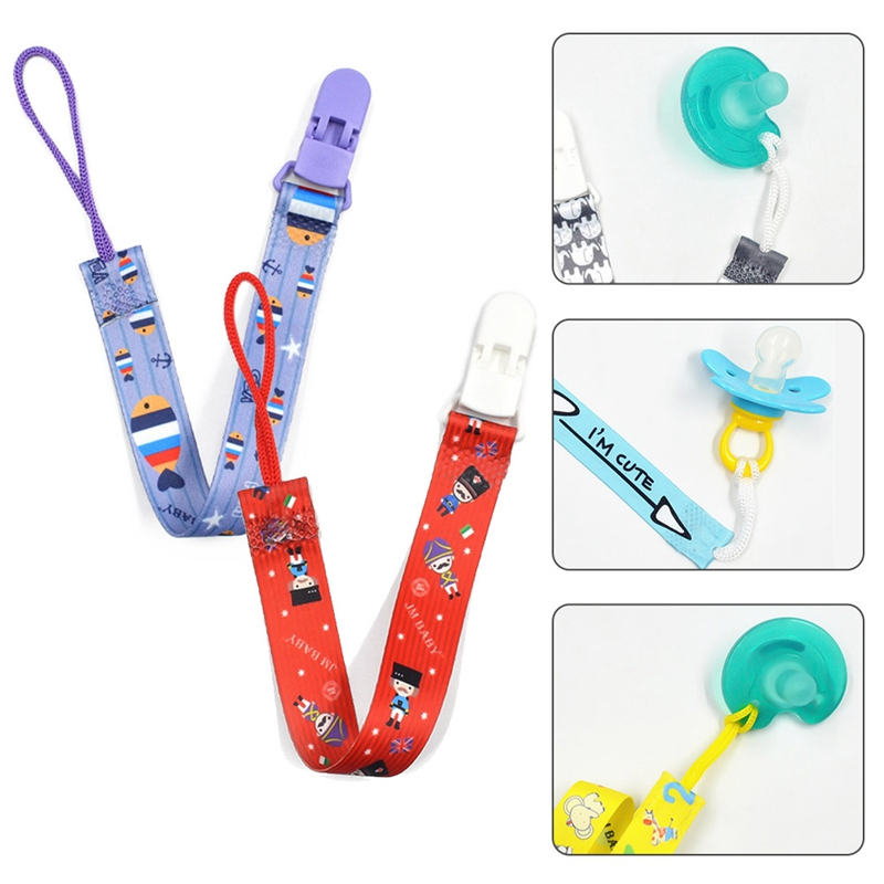 Baby Pacifier Anti-chain Clip Nipple Gutta-percha Chain Release Anti-drop Toy Anti-lost Rope Lanyard Infant Supplies