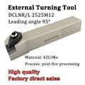 DCLNR2525M12 DCLNL2525M12 Externe Drehen Werkzeug Halter Cnc drehmaschine Cutter DCLNR DCLNL Für Drehen Werkzeuge Hartmetall Einsätze CNMG1204-in Werkzeughalter aus Werkzeug bei