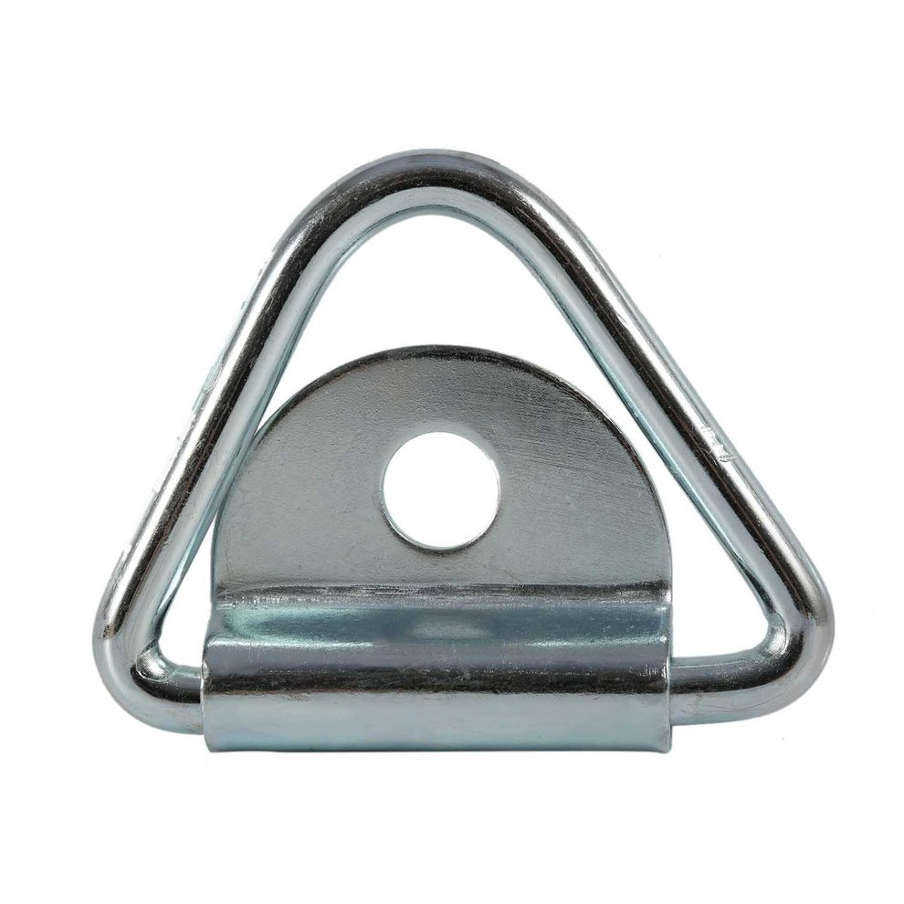 HEAVY DUTY GALVANISED RING ON PLATE Tie Down Staple Lashing Boat Mooring Anchor