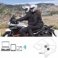 4.1+EDR Bluetooth Headphone Anti interference For Motorcycle Helmet Riding Hands Free Headphone Motorcycle Accessories|Helmet Headsets| |  -