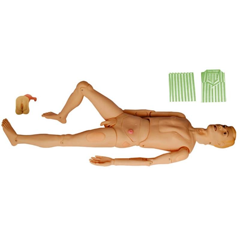 Basic Nursing Training Manikin, Male Nursing Practice Mannequin,Patient Care Dummy