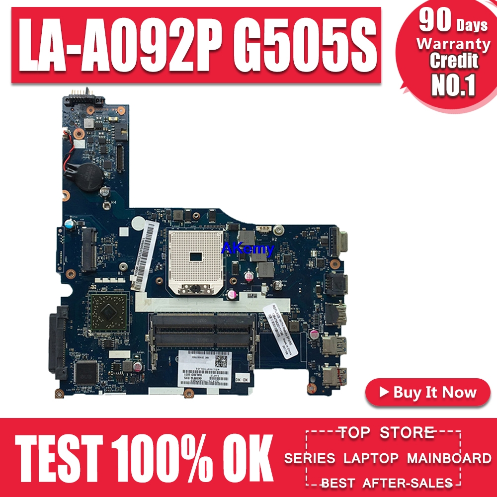 Laptop Motherboard For Lenovo G505S 90003237 VALGC_GD LA-A092P DDR3 FULLY Tested WELL