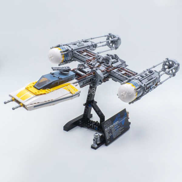 75181 Star Wars Movie Series Y-Wing Starfighter Building Blocks 1967pcs Bricks Kids Toys Compatible StarWars 05143
