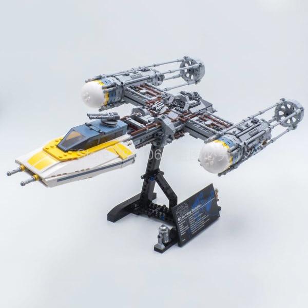 75181 Star Wars Movie Series Y-Wing Starfighter Building Blocks 1967pcs Bricks Kids Toys Compatible StarWars 05143