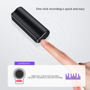 Image 4 - מיני אודיו מקליט 600 שעות הקלטת 8GB 16GB 32GB מגנטי מקצועי דיגיטלי HD הקלטת טלפון רעש הפחתה מרחוק