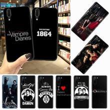 O vampiro diários stefan damon salvatore caso telefone de alta qualidade para huawei honor mate p 10 20 30 40 pro 10i 9 10 20 8 x lite