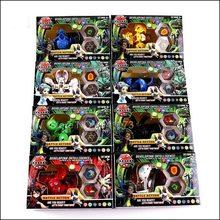 Набор ценностей TAKARA TOMY BAKUGANES детская игрушка подарок на день рождения Модель украшение всего 8 16 карт и магнитные подушечки