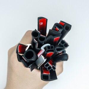 Image 5 - Tür dichtung streifen auto gummi reverse Z Typ Noise Isolierung Dichtungsdichtung Gummi Streifen Trim Auto Gummi Dichtung streifen