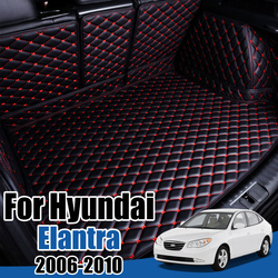 Car Boot Tray Floor Protector for Hyundai Elantra HD 2006 2007 2008 2009 2010 Avante Sedan Cargo Liner Boot Carpet Trunk Mat