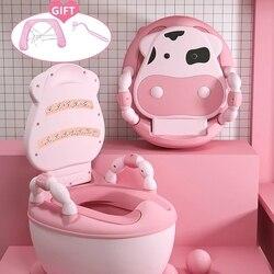 Портативный горшок Портативный детский туалет для приучения к горшку сиденье Детский горшок обучение девушки горшок для мальчика детское ...