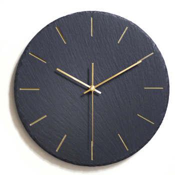 Silent Nordic Wall Clock Modern Design Black Simple Living Room Decoration Clock Wall Orologio Da Parete Home Art Clock MM50WC