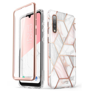 Image 1 - For Samsung Galaxy A50/A50s Case (2019) i Blason Cosmo Full Body Glitter Marble Bumper Case with Built in Screen Protector