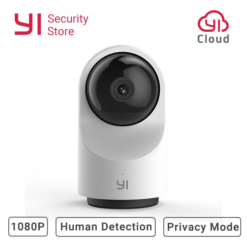 New YI Dome Camera X 1080P Security IP Cam FHD WIFI AI-Based 2-way Audio Human/Pet Detection Night Vision SD Card Slot/YI Cloud