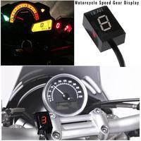 Motorcycle Speed Gear Display Indicator For Suzuki Intruder Motorcycle 6 Levels 1 6 Gear Ecu Plug Mount Motorcycle Accessories
