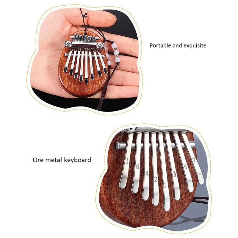 piano marimba musical bom acessório pingente presente