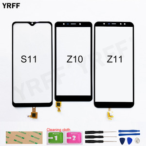 Image 1 - For Leagoo S11 Touchscreen For Leagoo Z11 Z10 Touch Screen Digitizer r Sensor Glass Panel Assembly Replacement