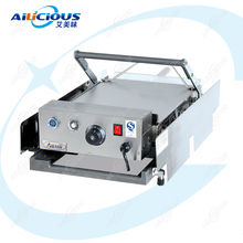 GF212 Electric Hamburger Burger Grill Making Machine hamburger patty machine Stainless Steel Commercial best price electric grill pan stainless steel roaster fried meat pancake making machine for home commercial use