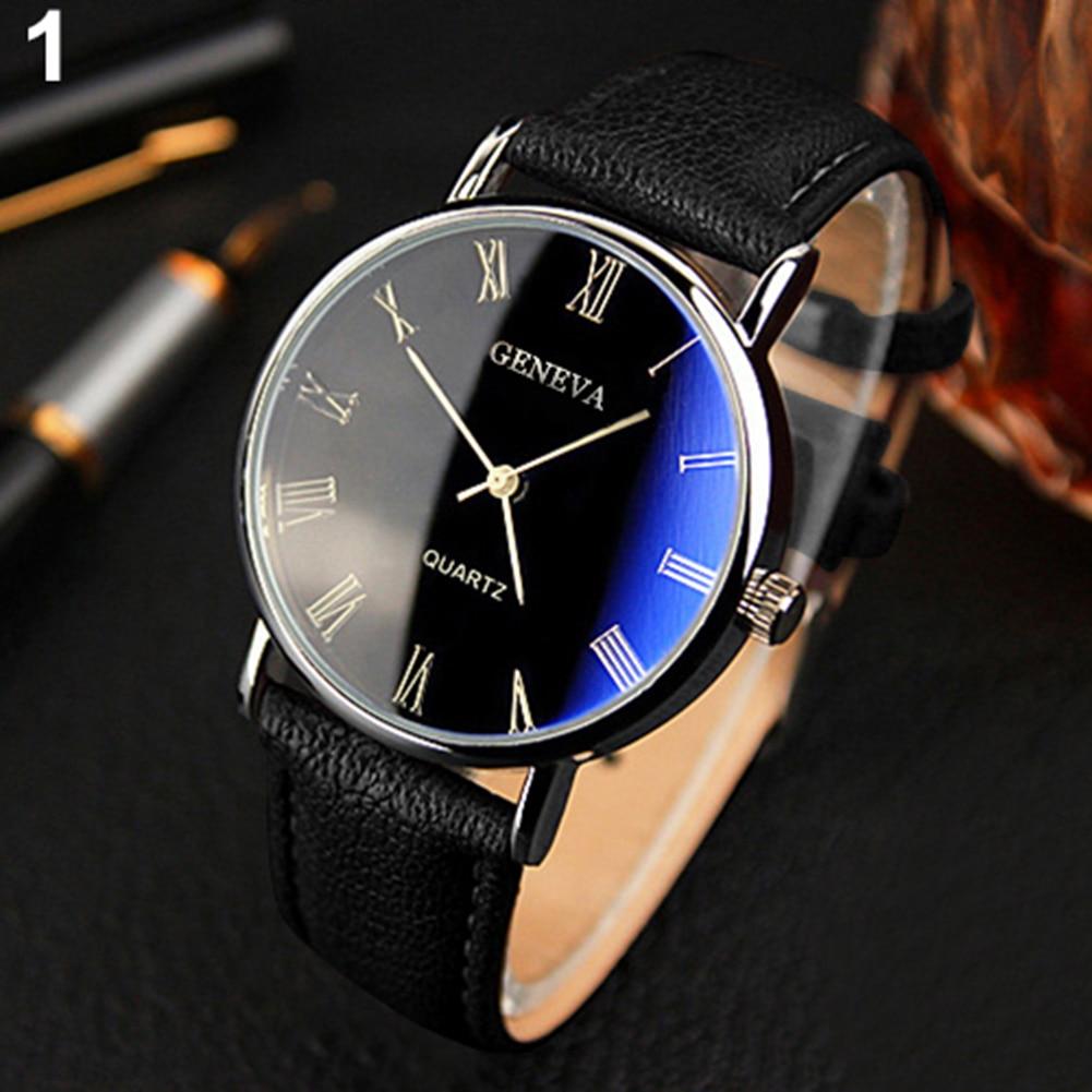 Fashion Men Watches Ultra Thin Stainless Steel Mesh Belt Quartz Wrist Watch Man Dress Watch Classic Rose Gold Clock Casual 2