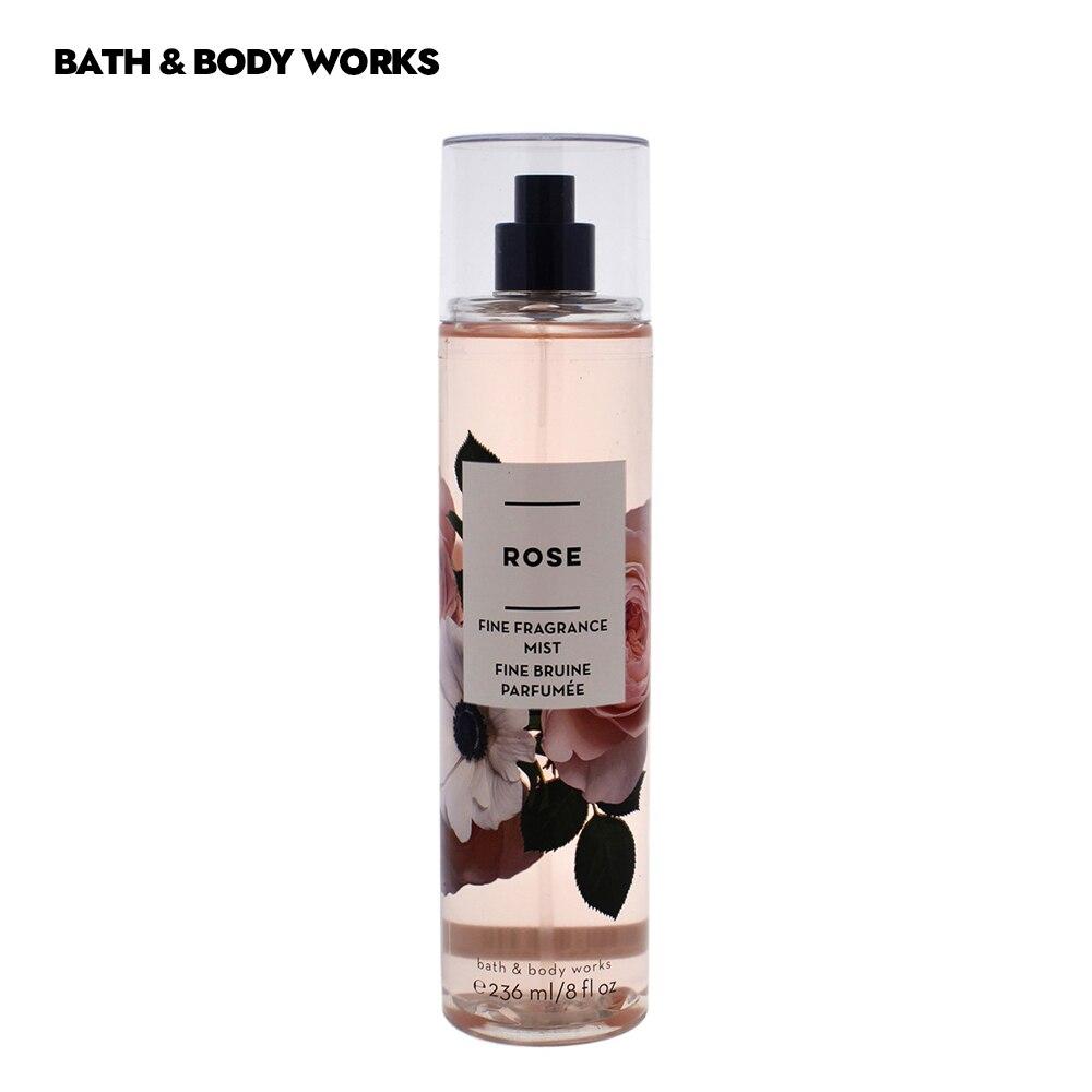 Bad und Körper Funktioniert parfüm für frau Lange Anhaltende Parfums Rose Blumen Früchte Geschmack Duft Nebel-8 unzen Victoria der Geheimnis