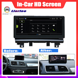 Image 2 - หน้าจอ HD สเตอริโอ Android Car GPS Navi แผนที่สำหรับ Audi Q3 8U 2013 ~ 2018 Original มัลติมีเดียมัลติมีเดียเครื่องเล่นวิทยุ