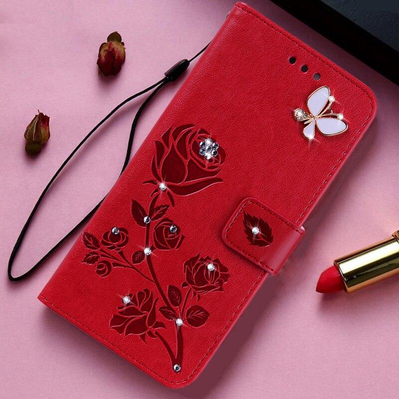 Flower Painted Card Slot Wallet Case For Motorola Moto G Stylus G Power Burton Edge Plus G3 G4 G5 G5S Z Z3 Play Z2 Force Cover