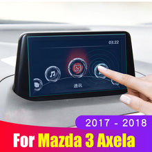 Защитная пленка для mazda 3 axela аксессуары 2017 2018 закаленное