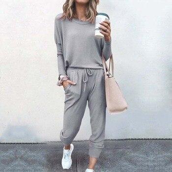 2021 Autumn Pajama Set Women Sleepwear Lounge Wear Set Female Loungewear Nightwear Ladies Homewear Women Sleep Wear