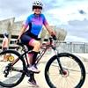 20-kafitt-19d-gel almofada ciclismo mulher triathlon ciclismo camisa de uma peça vestido pequeno macaco manga curta terno competição novo 17