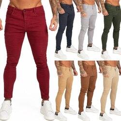 Gingtto, синие джинсы, облегающие, супер облегающие джинсы для мужчин, уличная одежда, хип-хоп, облегающие, по щиколотку, плотно прилегают к телу,...