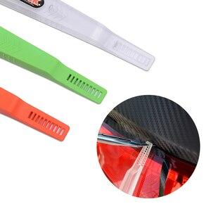 Image 5 - Foshio 炭素繊維ビニールフィルム磁気コーナーサイドラップスティックスキージマイクロスクレーパーカーラッピングツール窓色合いインストールセット
