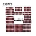 338 шт. новый барабан шлифовальный абразивный 1/2 ''1/4'' 3/8