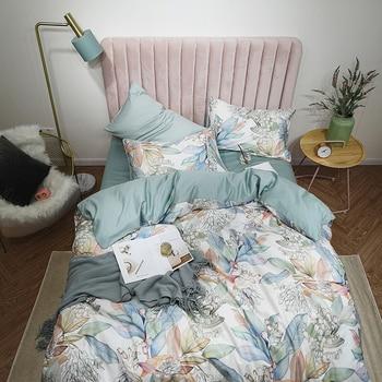 Egyptian Cotton Bedding Set Pastel Florals 2