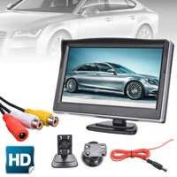 Monitor Digital de 5 pulgadas, 800X480, TFT, LCD, pantalla HD, adecuado para cámara de visión trasera de coche, respaldo de marcha atrás