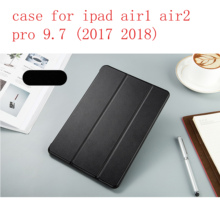 New TPU soft shell Leather Case for Apple iPad Air 1,Air 2, Pro9.7 2017,2018 Fashion Smart Cover