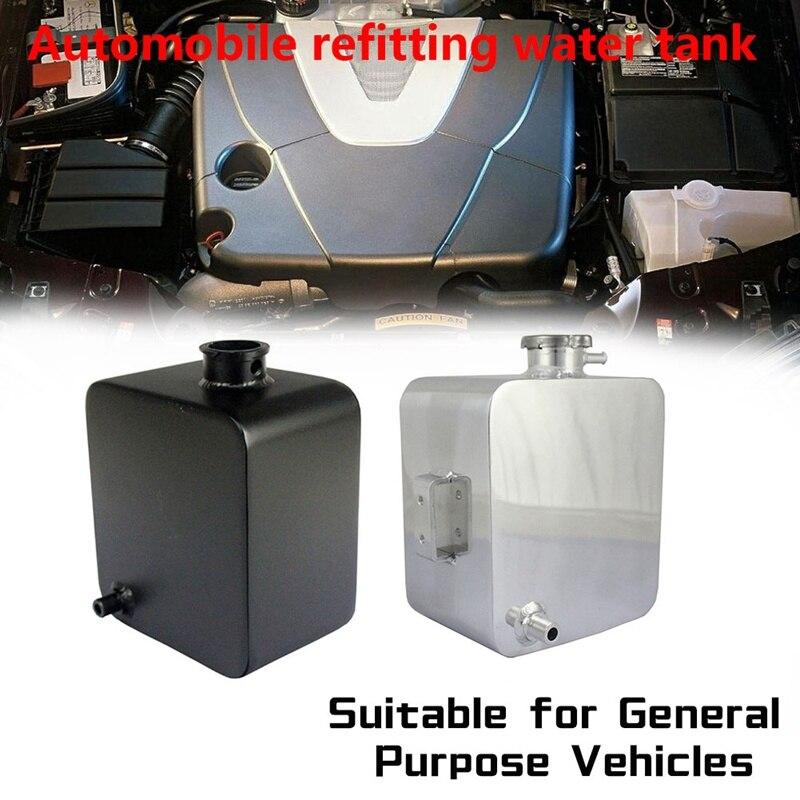 Universel 1L liquide de refroidissement radiateur trop plein récupération réservoir d'eau bouteille aluminium