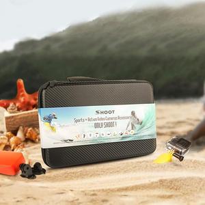 Image 5 - SHOOT Actionอุปกรณ์เสริมกล้องขาตั้งกล้องMonopodสำหรับGoPro Hero 9 8 7 5สีดำXiaomi Yi 4K Sjcam Sj8 Eken H9r